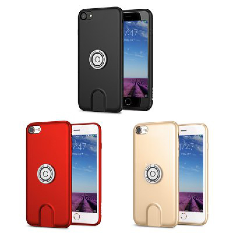 Чехол Baseus Magnetic Wireless Charging Multi-function iPhone 7/ 8, Red