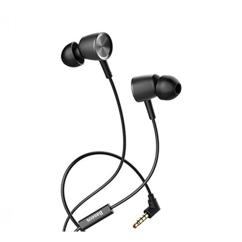 Căști Baseus Encok Wire Earphones H07 Black