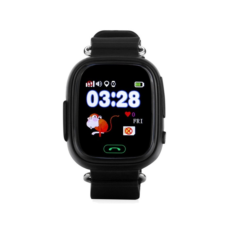 Wonlex Smart Baby Watch GW100, Black