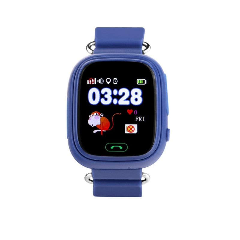 Wonlex Smart Baby Watch GW100, dark blue