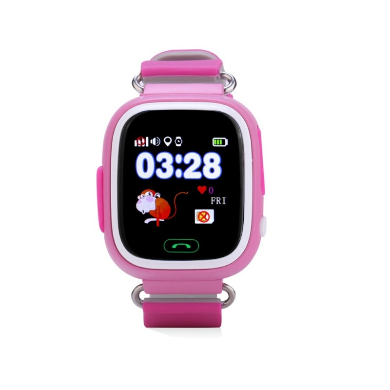 Wonlex Smart Baby Watch GW100, Pink