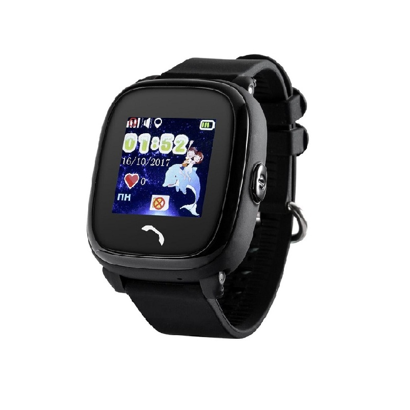 Wonlex Smart Baby Watch GW400S, Black