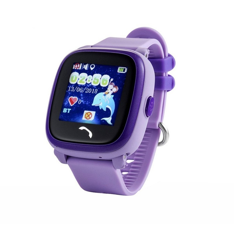 Wonlex Smart Baby Watch GW400S, Purple