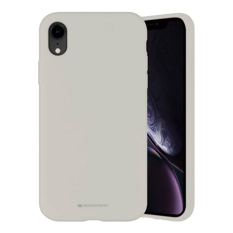 Чехол iPhone XR Goospery Mercury Liquid Silic...