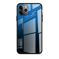Husa Screen Geeks Glaze iPhone 11, black&blue