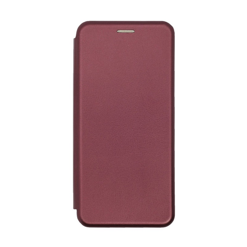 Чехол Xiaomi redmi Note 9 Flip, wine red