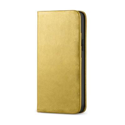 Husa Xiaomi Redmi Note 9 Flip Deluxe [gold]