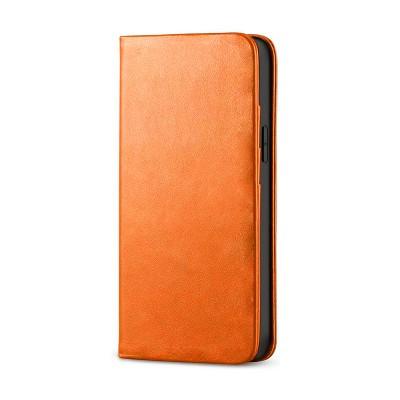 Husa Xiaomi redmi 9 Flip Deluxe [orange]