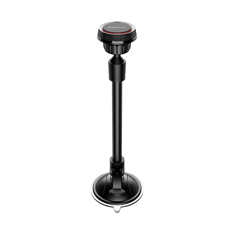 Suport Auto Borofone BH18 Journey series windshield car holder, black-red