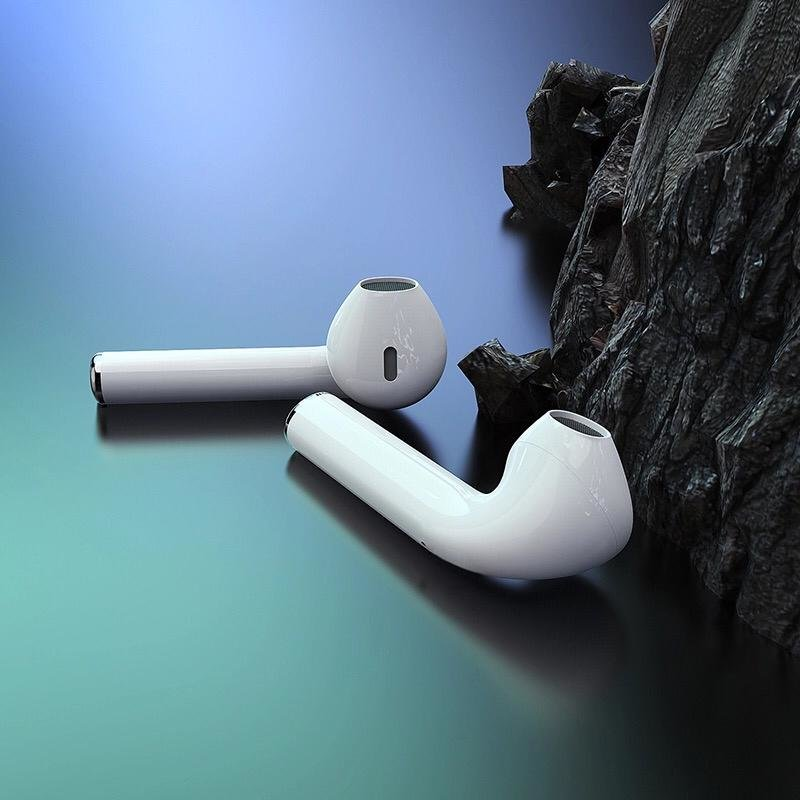 Căști Bluetooth Borofone BE28 Plus Original series apple wireless headset, white
