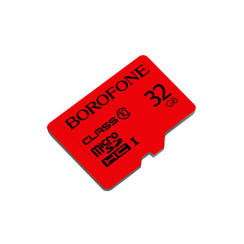 Micro SD Borofone TF high speed (32GB), red