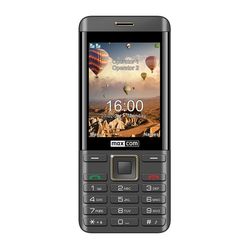 MAXCOM MM236 Black/Silver