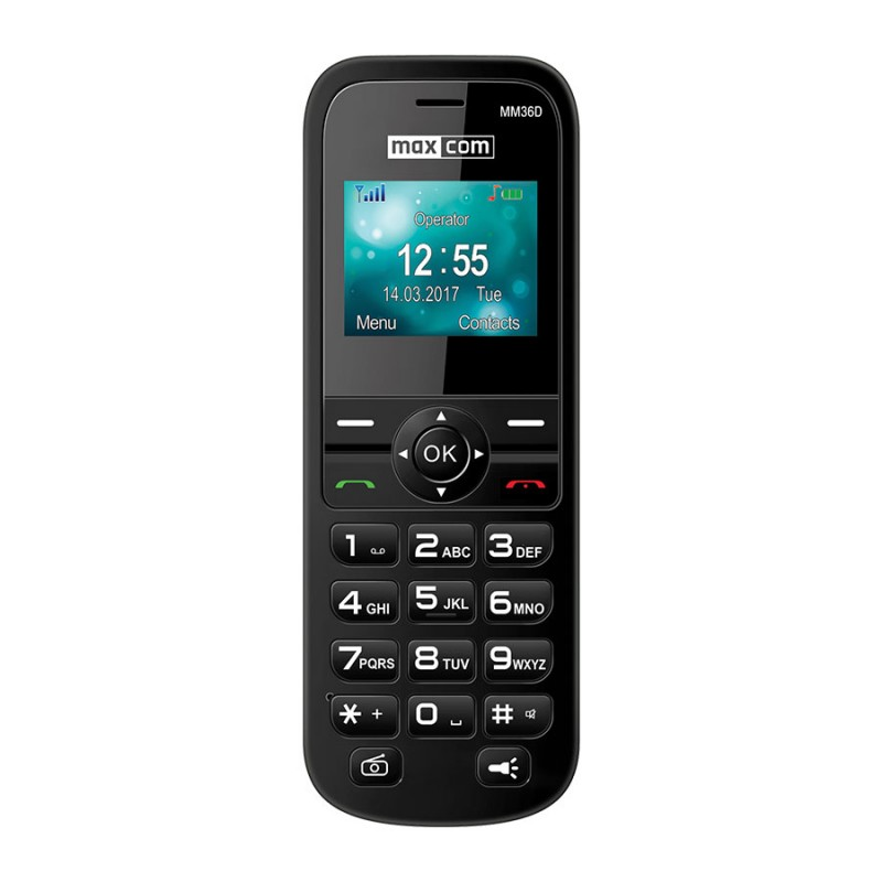 MAXCOM MM36D 3G Black