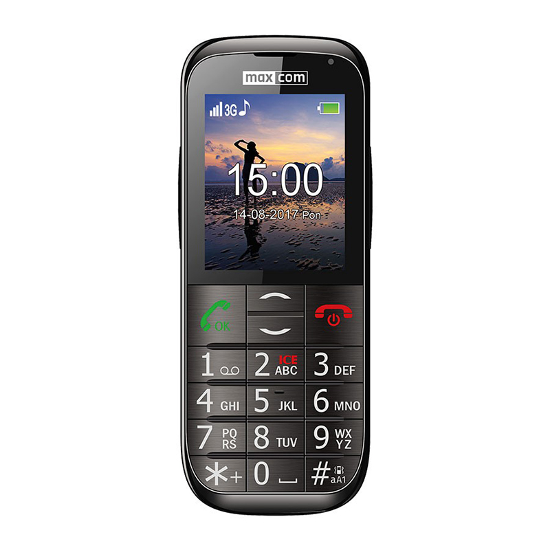 MAXCOM MM721BB 3G Black